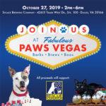 Paws Vegas graphic